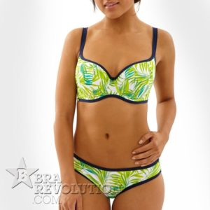 Biustonosz AVRIL Palm Print CW 0224 Cleo Swim by Panache